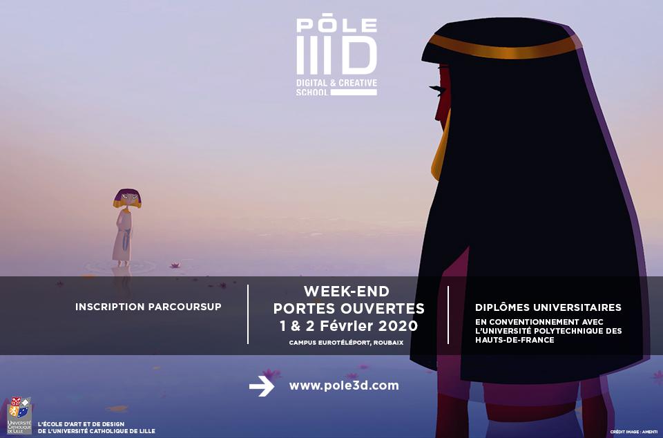 Pôle 3D open week end !