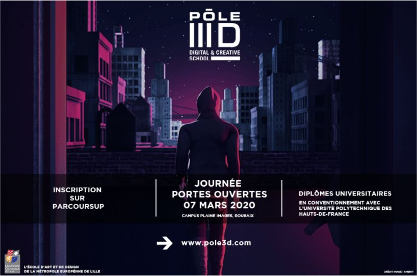 [CANCELLED] PÔLE 3D Open Day at la Plaine Images