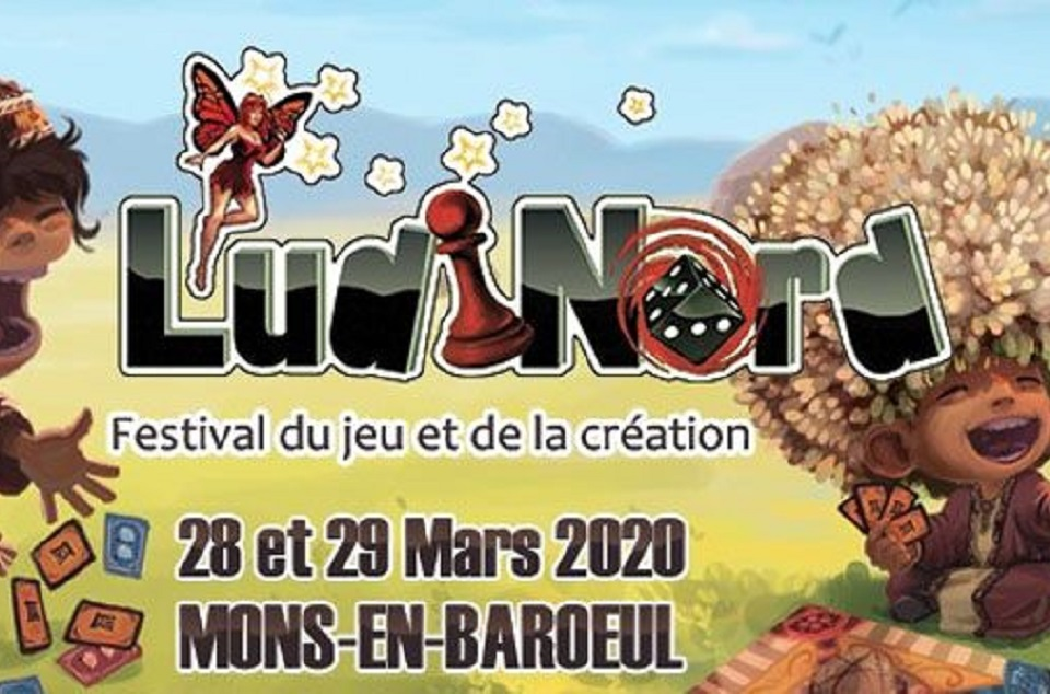 [CANCELLED] Pôle 3D at Ludinord Festival