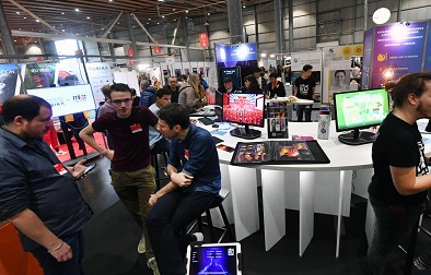 In Lille, the student fair connects to the design professions